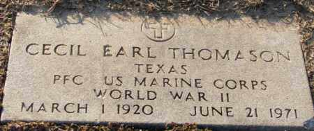 THOMASON (VETERAN WWII), CECIL EARL - Mississippi County, Arkansas | CECIL EARL THOMASON (VETERAN WWII) - Arkansas Gravestone Photos