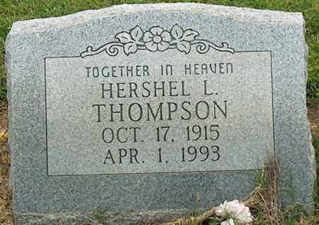 THOMPSON, HERSHEL L - Mississippi County, Arkansas | HERSHEL L THOMPSON - Arkansas Gravestone Photos