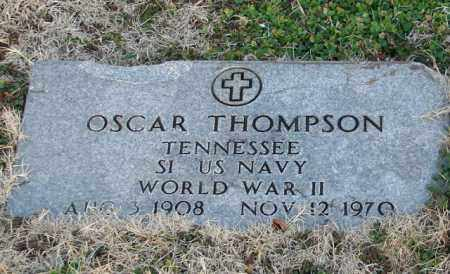 THOMPSON (VETERAN WWII), OSCAR - Mississippi County, Arkansas | OSCAR THOMPSON (VETERAN WWII) - Arkansas Gravestone Photos