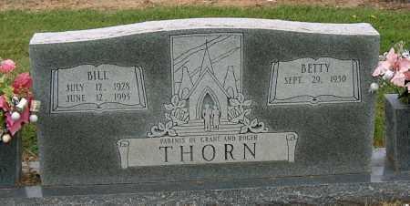 THORN, BILL - Mississippi County, Arkansas | BILL THORN - Arkansas Gravestone Photos