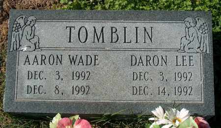TOMBLIN, AARON WADE - Mississippi County, Arkansas | AARON WADE TOMBLIN - Arkansas Gravestone Photos