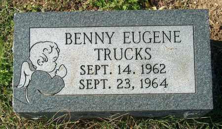 TRUCKS, BENNY EUGENE - Mississippi County, Arkansas   BENNY EUGENE TRUCKS - Arkansas Gravestone Photos