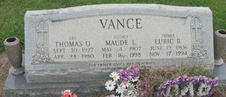 VANCE, THOMAS O - Mississippi County, Arkansas | THOMAS O VANCE - Arkansas Gravestone Photos