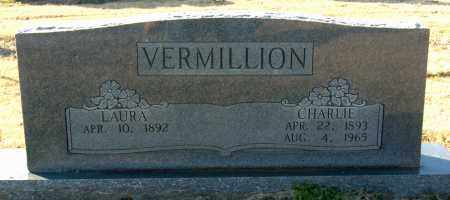 VERMILLION, CHARLIE - Mississippi County, Arkansas | CHARLIE VERMILLION - Arkansas Gravestone Photos