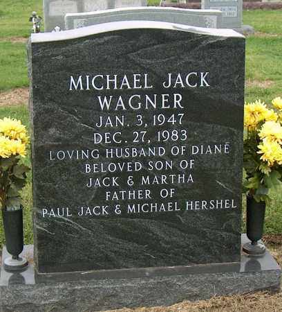 WAGNER, MICHAEL JACK - Mississippi County, Arkansas | MICHAEL JACK WAGNER - Arkansas Gravestone Photos