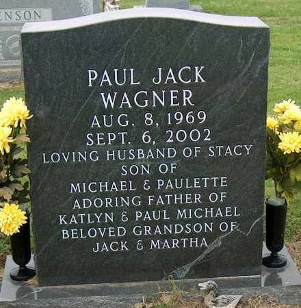 WAGNER, PAUL JACK - Mississippi County, Arkansas | PAUL JACK WAGNER - Arkansas Gravestone Photos