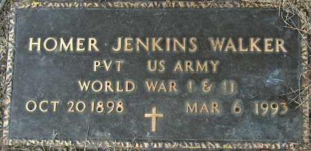 WALKER (VETERAN 2 WARS), HOMER JENKINS - Mississippi County, Arkansas | HOMER JENKINS WALKER (VETERAN 2 WARS) - Arkansas Gravestone Photos