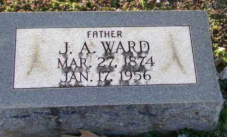 WARD, J. A. - Mississippi County, Arkansas | J. A. WARD - Arkansas Gravestone Photos