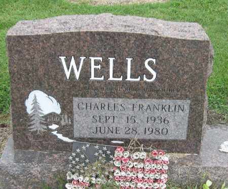 WELLS, CHARLES FRANKLIN - Mississippi County, Arkansas | CHARLES FRANKLIN WELLS - Arkansas Gravestone Photos