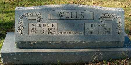 WELLS, WILBURN F - Mississippi County, Arkansas | WILBURN F WELLS - Arkansas Gravestone Photos