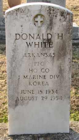 WHITE (VETERAN KOR), DONALD H - Mississippi County, Arkansas | DONALD H WHITE (VETERAN KOR) - Arkansas Gravestone Photos