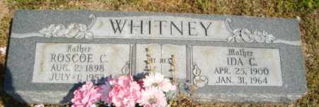 WHITNEY, IDA C - Mississippi County, Arkansas | IDA C WHITNEY - Arkansas Gravestone Photos