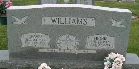 WILLIAMS, REAVES - Mississippi County, Arkansas | REAVES WILLIAMS - Arkansas Gravestone Photos