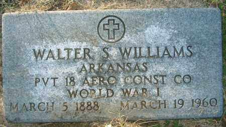 WILLIAMS (VETERAN WWI), WALTER S - Mississippi County, Arkansas | WALTER S WILLIAMS (VETERAN WWI) - Arkansas Gravestone Photos