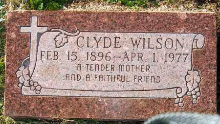 WILSON, CLYDE - Mississippi County, Arkansas | CLYDE WILSON - Arkansas Gravestone Photos