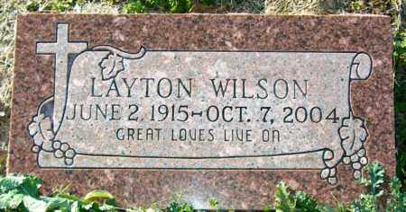 WILSON, LAYTON - Mississippi County, Arkansas | LAYTON WILSON - Arkansas Gravestone Photos