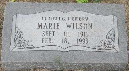 WILSON, MARIE - Mississippi County, Arkansas | MARIE WILSON - Arkansas Gravestone Photos