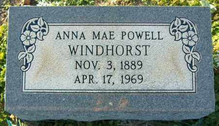 POWELL WINDHORST, ANNA MAE - Mississippi County, Arkansas | ANNA MAE POWELL WINDHORST - Arkansas Gravestone Photos