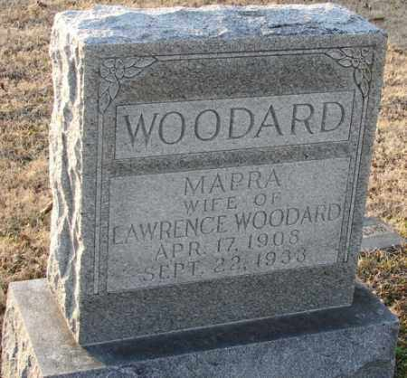 WOODARD, MAPRA - Mississippi County, Arkansas | MAPRA WOODARD - Arkansas Gravestone Photos