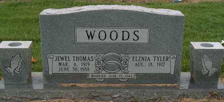 WOODS, JEWEL THOMAS - Mississippi County, Arkansas   JEWEL THOMAS WOODS - Arkansas Gravestone Photos