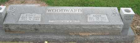 WOODWARD, ANNA - Mississippi County, Arkansas | ANNA WOODWARD - Arkansas Gravestone Photos