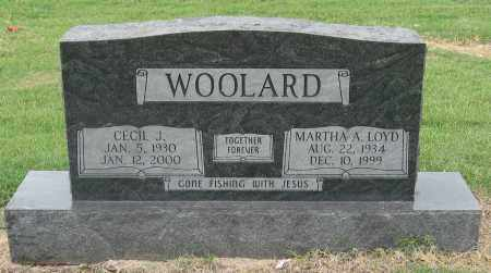 LOYD WOOLARD, MARTHA A. - Mississippi County, Arkansas | MARTHA A. LOYD WOOLARD - Arkansas Gravestone Photos