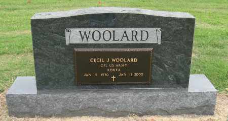 WOOLARD (VETERAN KOR), CECIL J - Mississippi County, Arkansas | CECIL J WOOLARD (VETERAN KOR) - Arkansas Gravestone Photos