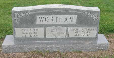 PHILLIPS WORTHAM, MERGIE MAE - Mississippi County, Arkansas | MERGIE MAE PHILLIPS WORTHAM - Arkansas Gravestone Photos