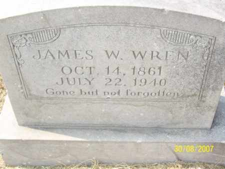 WREN, JAMES W. - Mississippi County, Arkansas | JAMES W. WREN - Arkansas Gravestone Photos