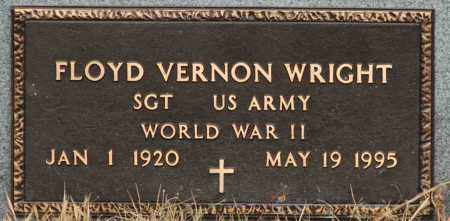 WRIGHT  (VETERAN WWII), FLOYD VERNON - Mississippi County, Arkansas | FLOYD VERNON WRIGHT  (VETERAN WWII) - Arkansas Gravestone Photos