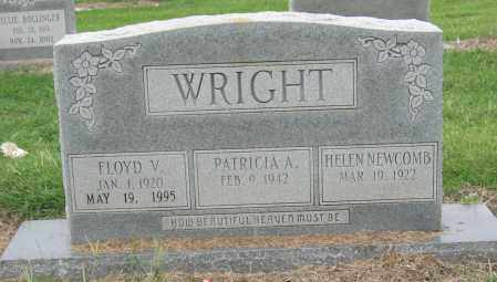 WRIGHT, FLOYD V - Mississippi County, Arkansas | FLOYD V WRIGHT - Arkansas Gravestone Photos