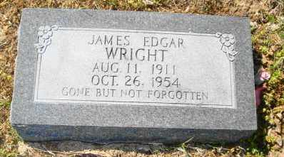 WRIGHT, JAMES EDGAR - Mississippi County, Arkansas | JAMES EDGAR WRIGHT - Arkansas Gravestone Photos
