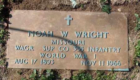 WRIGHT (VETERAN WWI), NOAH W - Mississippi County, Arkansas | NOAH W WRIGHT (VETERAN WWI) - Arkansas Gravestone Photos