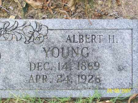YOUNG, ALBERT H. - Mississippi County, Arkansas | ALBERT H. YOUNG - Arkansas Gravestone Photos