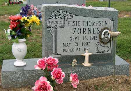 ZORNES, ELSIE - Mississippi County, Arkansas | ELSIE ZORNES - Arkansas Gravestone Photos