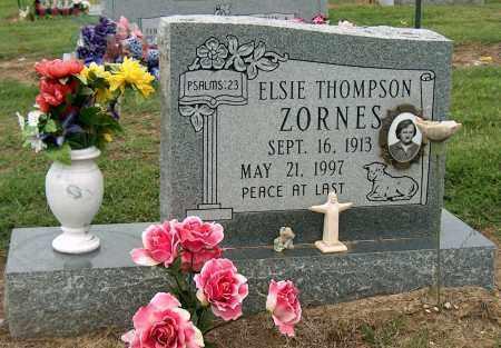 THOMPSON ZORNES, ELSIE - Mississippi County, Arkansas | ELSIE THOMPSON ZORNES - Arkansas Gravestone Photos