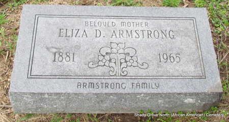 ARMSTRONG, ELIZA D - Monroe County, Arkansas | ELIZA D ARMSTRONG - Arkansas Gravestone Photos