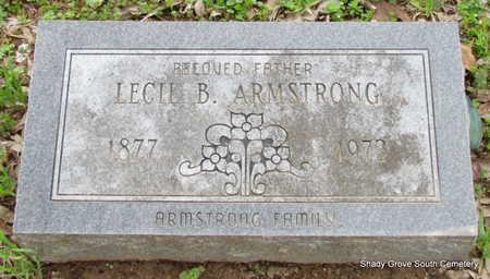 ARMSTRONG, LECIL B. - Monroe County, Arkansas | LECIL B. ARMSTRONG - Arkansas Gravestone Photos
