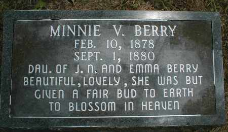 BERRY, MINNIE - Monroe County, Arkansas | MINNIE BERRY - Arkansas Gravestone Photos
