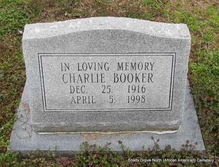 BOOKER, CHARLIE - Monroe County, Arkansas | CHARLIE BOOKER - Arkansas Gravestone Photos