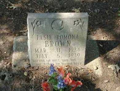 BROWN, ELSIE - Monroe County, Arkansas | ELSIE BROWN - Arkansas Gravestone Photos