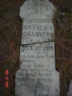 CHAMBERS, ARTHER C. - Monroe County, Arkansas | ARTHER C. CHAMBERS - Arkansas Gravestone Photos