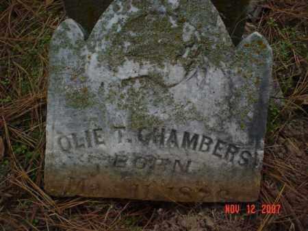 CHAMBERS, OLIE T. - Monroe County, Arkansas | OLIE T. CHAMBERS - Arkansas Gravestone Photos