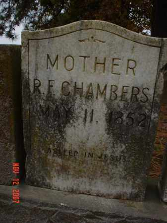 CHAMBERS, R.F. - Monroe County, Arkansas | R.F. CHAMBERS - Arkansas Gravestone Photos