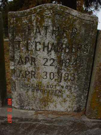 CHAMBERS, T.L. - Monroe County, Arkansas | T.L. CHAMBERS - Arkansas Gravestone Photos