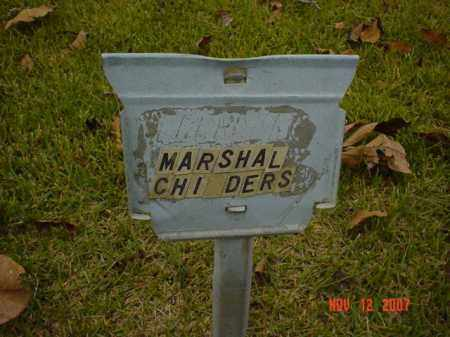 CHILDERS, MARSHAL - Monroe County, Arkansas | MARSHAL CHILDERS - Arkansas Gravestone Photos