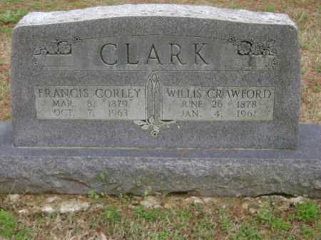 CLARK, FRANCIS - Monroe County, Arkansas | FRANCIS CLARK - Arkansas Gravestone Photos