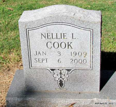 COOK, NELLIE L - Monroe County, Arkansas | NELLIE L COOK - Arkansas Gravestone Photos