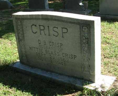CRISP, DANIEL BOONE - Monroe County, Arkansas | DANIEL BOONE CRISP - Arkansas Gravestone Photos