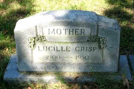 CRISP, LUCILLE - Monroe County, Arkansas | LUCILLE CRISP - Arkansas Gravestone Photos